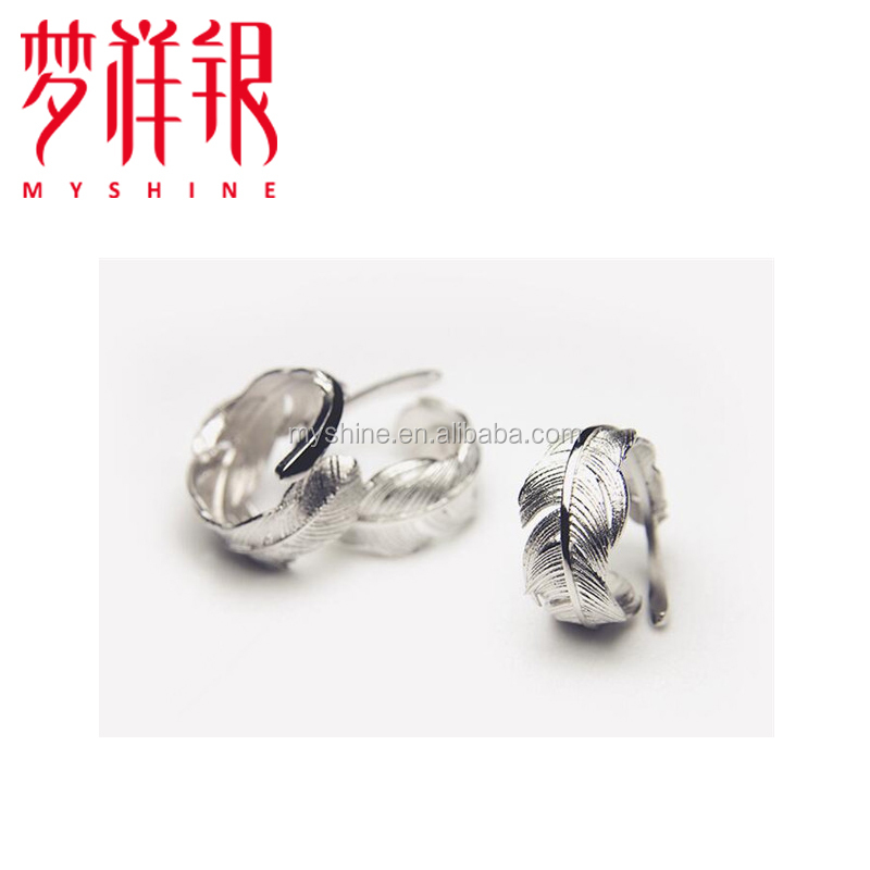 Hot sale smart women's men's silver or gold ring