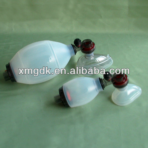 silicone rubber Resuscitator medical science