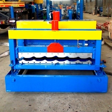 Cold Former Mill Roll Forming Machine For Aluzinc Metal Roof And Wall Glaze Tiles Corrugated Sheets Galvanised Aluminium Panels