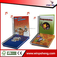 spiral notebook with blank pages