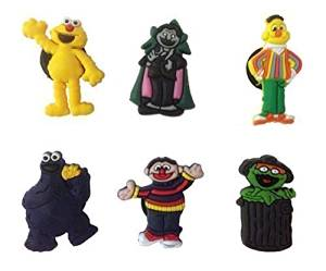 Sesame Street Shoe Charms 6 Pcs Set #1