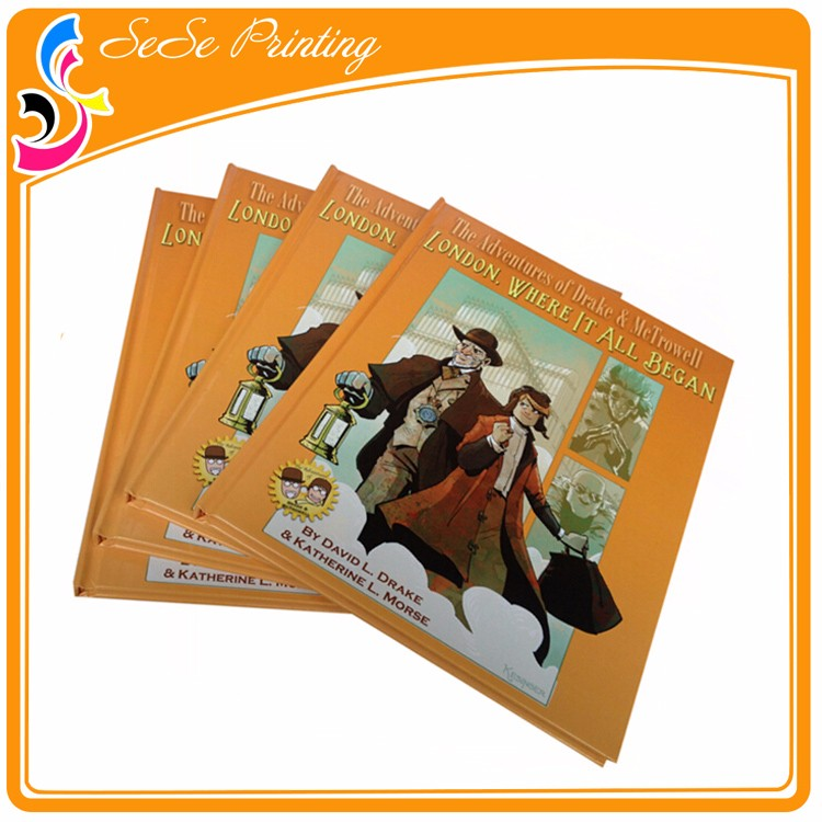 Custom Full Color Glossy Lamination Book Certificate Printing ...
