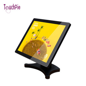 15 inch pos lcd customer display all in one touchscreen monitor manufacture by Guangzhou Touchpie