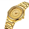 Wholesale bling bling diamond watch Geneva Designer Ladies Luxury Brand Diamond Quartz Gold Wrist Watch