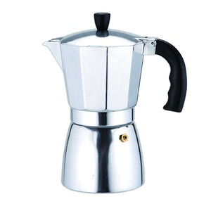 Aluminum Espresso Stovetop coffee maker machine parts with function