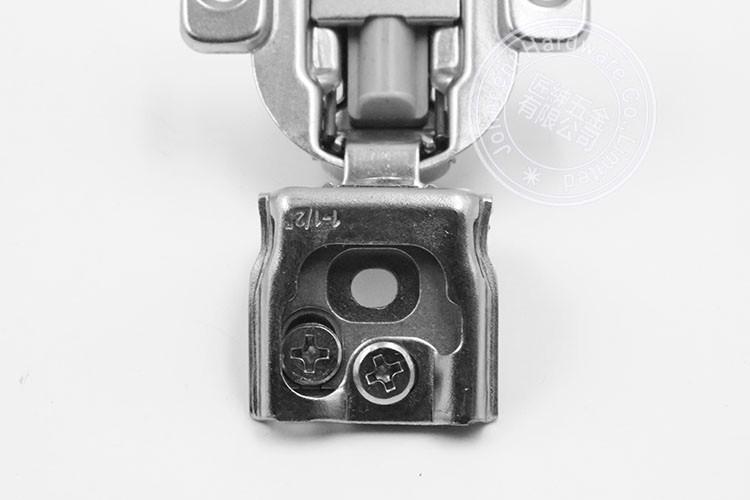 3D adjust soft close 1 5/8 cabinet hinge for American hinge