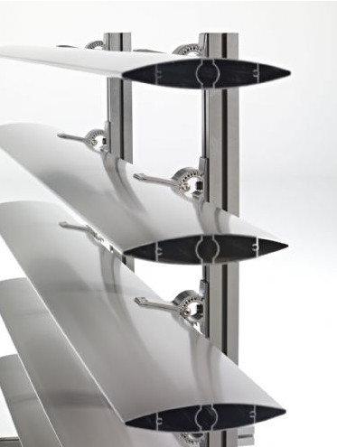 Custom Design 6063 T5 Sun Shade Aluminium Louvers