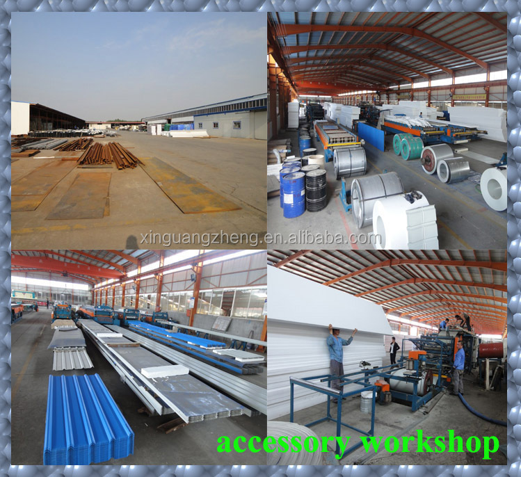 Economical small warehouse workshop