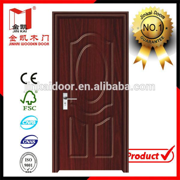 Pvc mdf interior puerta de madera para las habitaciones for Puertas de madera para habitaciones