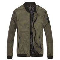 Men Jacket Male Casual Slim Fit Mandarin Collar Solid Jackets M-XXXL Brand New 2016 Men's Fashion Overcoat Clothing