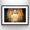 Buddha Picture Wall Art,New Design Portrait Print on Matte Paper,Mural Wall Decal for Home Decor