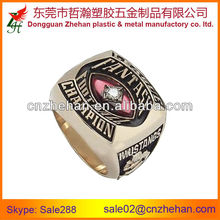 Customized champion metal rings