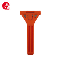 New Arrival Superior Quality Red Anti-Slip Constructor Tool Tile Scraper Paper Cutter Knife Floor scraper For Putty Removal
