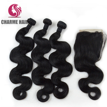 Wholesale body wave natural color 100% unprocessed Eurasian hair wefts human hair extensions