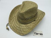 933615bc4f68b T60-42New Style Summer Cowboy Rush cheap straw cowboy hats For Mens