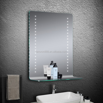Contemporary Hotel Illuminated Bathroom Mirror With Bending Gl ... on bathroom mirrors at lowe's, bathroom mirror with wood trim, bathroom shelves pottery barn, bathroom tongue and groove walls, bathroom mirror with cabinet, mirror display shelf, bathroom vanity large mirrors, curtains with shelf, bathroom cabinets product, bathroom mirror with bluetooth, bath tub with shelf, bathroom mirror with electrical outlet, wash basin with shelf, bathroom mirrors product, bathroom mirror with lights, bathroom vanity mirrors for frames, bathroom mirror with ledge, kitchen with shelf, bathroom sink shelf, rack with shelf,