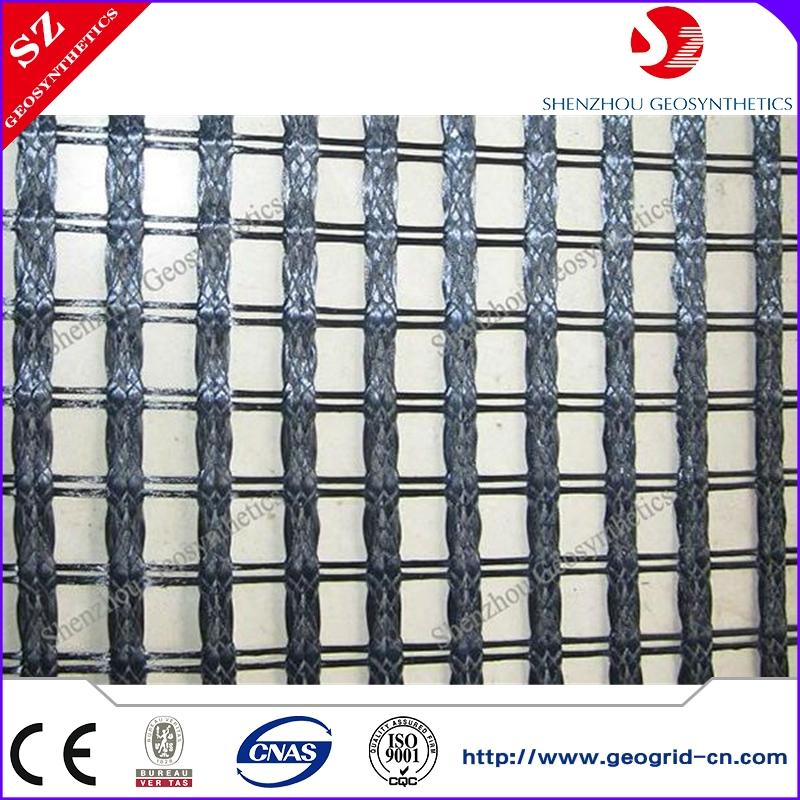 polyester geo grid polyester bx geogrid with polyethylene coated