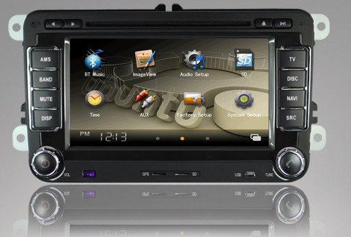 new vw car dvd player with gps radio canbus for vw golf v. Black Bedroom Furniture Sets. Home Design Ideas