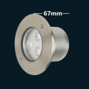 SS316 304ss constant voltage rgb 12V IP68 IP67 led inground light underwater lights 9W