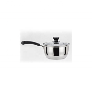 Portable stainless steel milk pot/saucepan/camping cookware/milk boiling pot