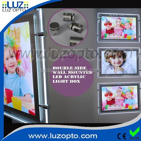 Acrylic Advertising Light Box,Advertising A Frame Led Window ...