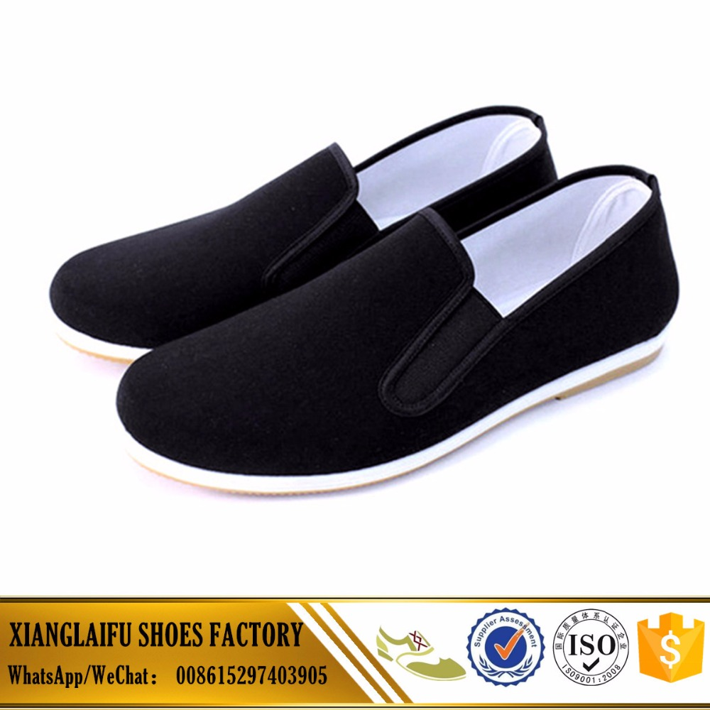 PVC injection shoes for men casual shoes kungfu shoes