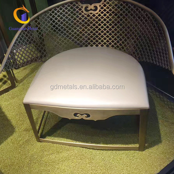 Customized decorative stainless steel chair base  metal furniture legs.