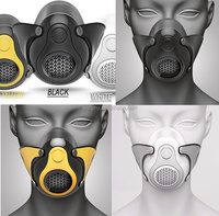 High Alititude Oxygen Breathing Phantom Performance Face Mask with Resistance for Fitness Sports training