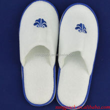 Anti Slip EVA Sole Men Slippers Shoes with Terry Towel Disposable Slippers