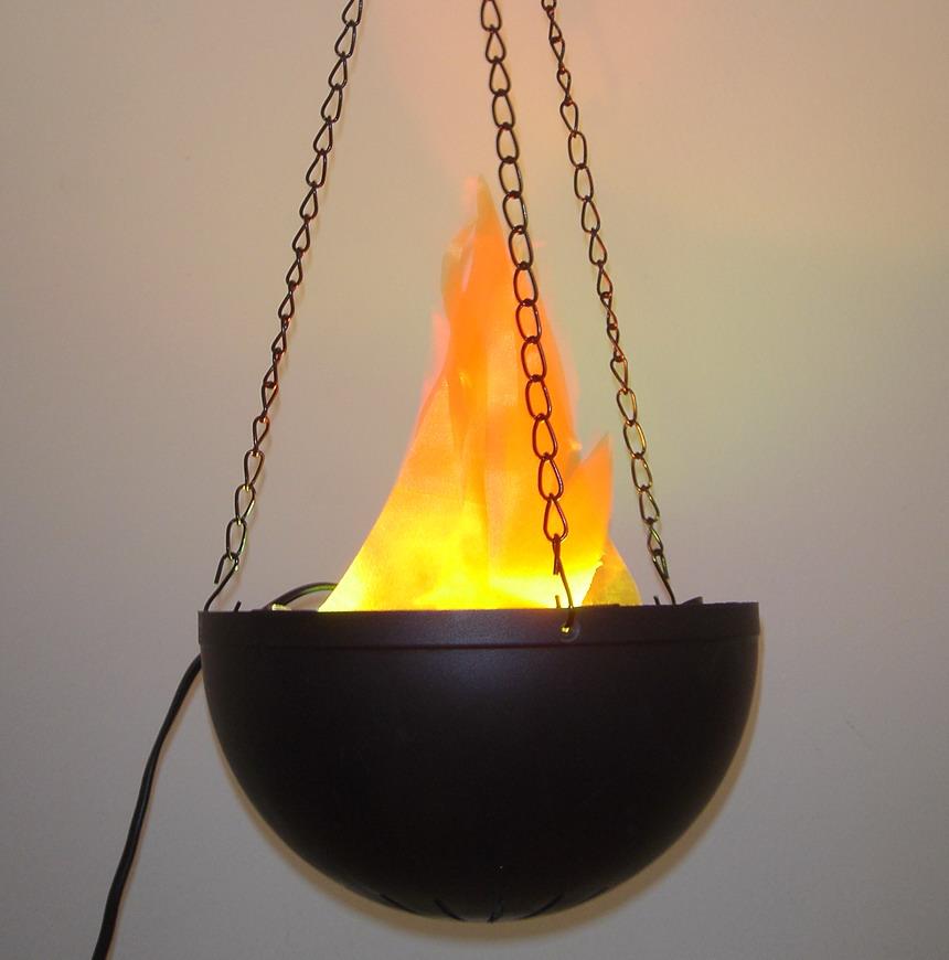 Flame Lamp Fire Light Flicker Flamp Lamp Halloween Light