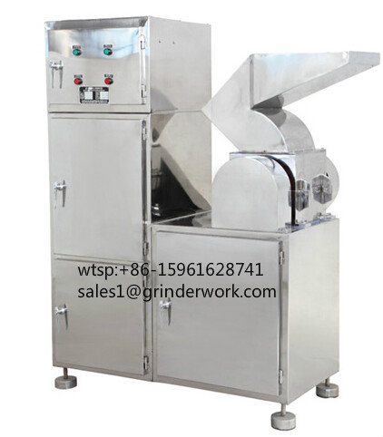 Commercial tea leaf cutting crushing machine