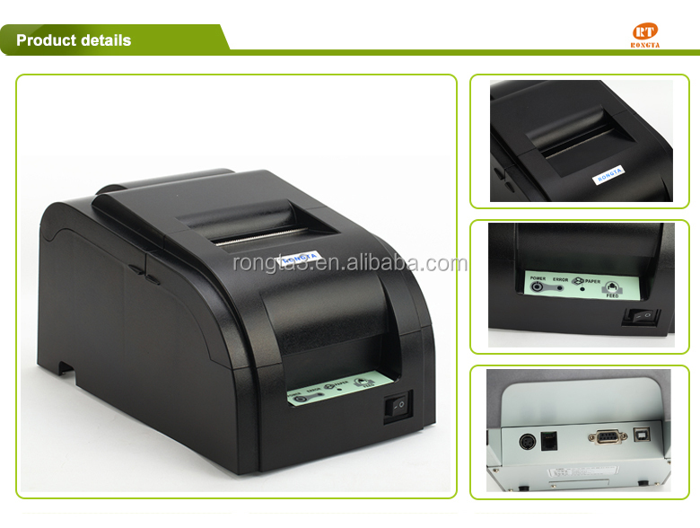 76mm impact receipt printer ----RP76II---Support black mark printing, compatible with ESC/POS