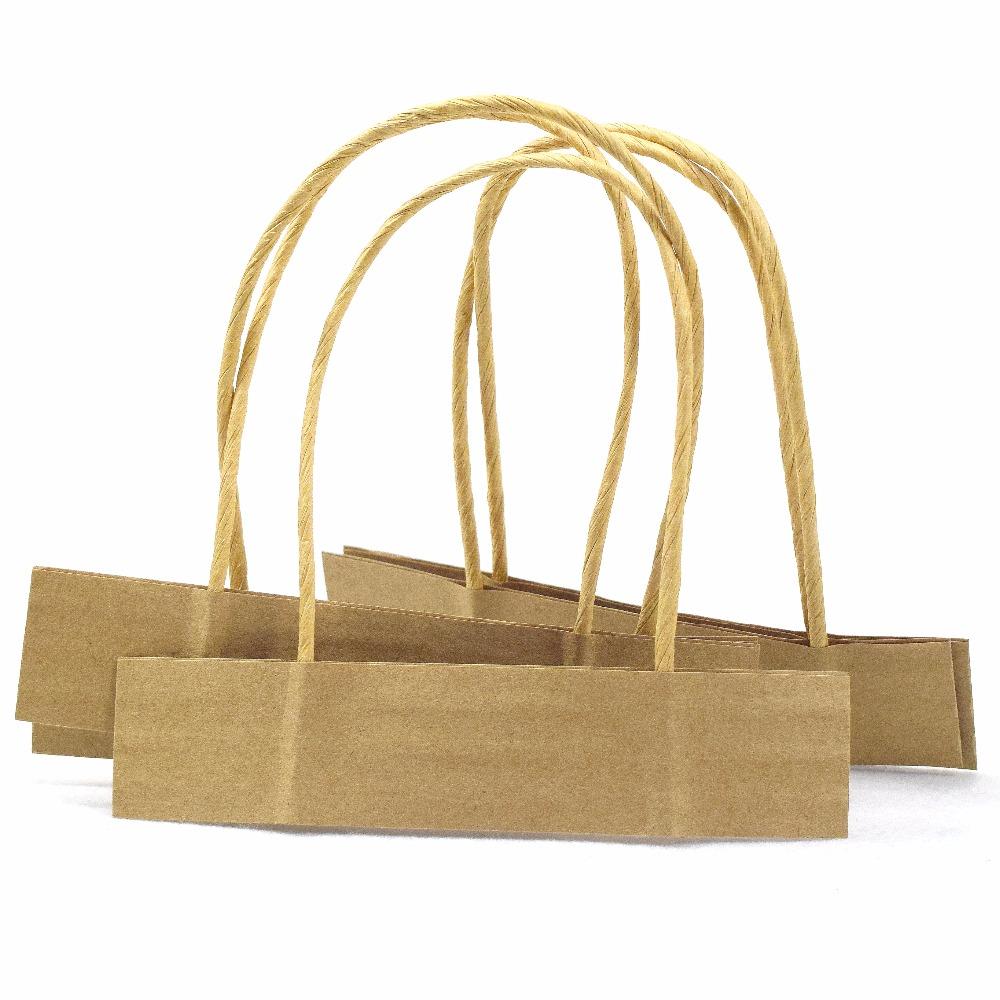 Atacado tipo diferente colorido torcido corda de papel alça para saco de papel