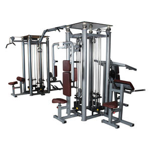 BFT-2080 commercial multi station gym,8 multifunction gym,sports equipment multifunctional fitness