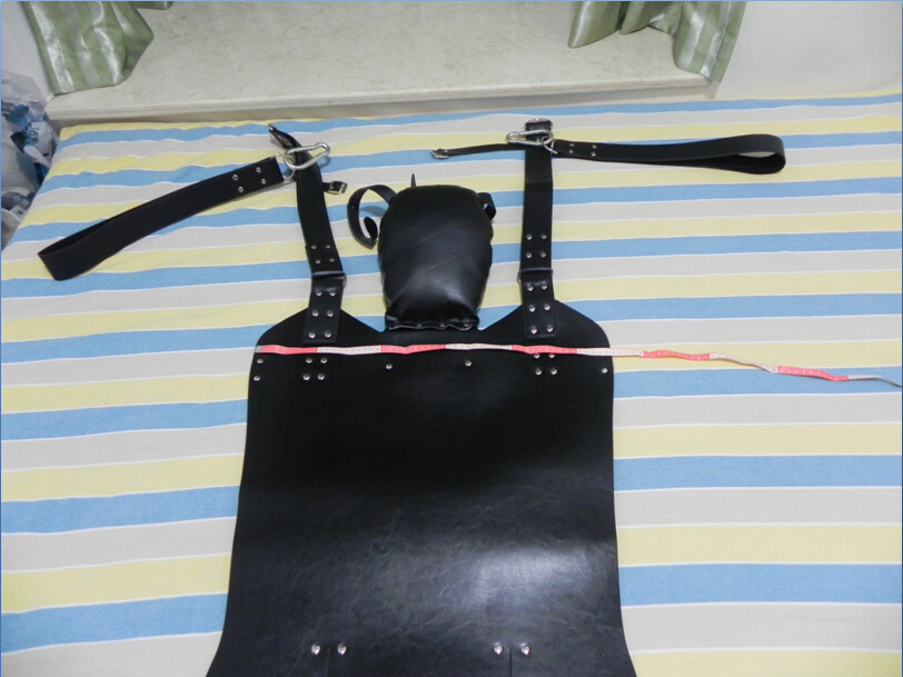 Two Layers Genuine Leather Sling Sex Hammock Sex Swing