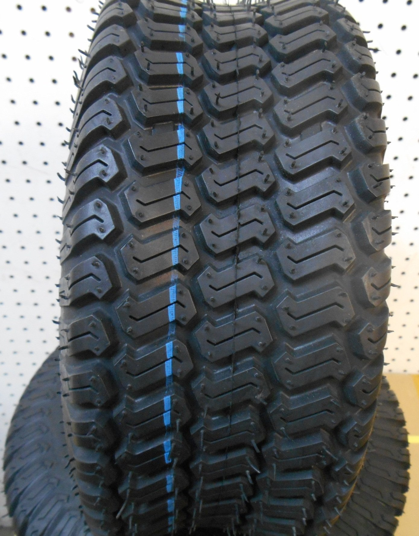 """(Lot of 2) Airloc brand 6"""" 15x6.00-6 15x6.00x6 Tubeless Turf Tires 4 ply rated"""
