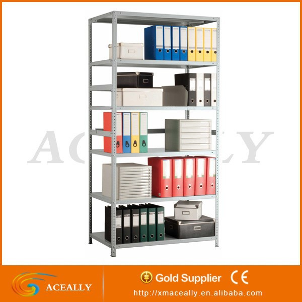 Easy to assemble garage storage shelves 5 tier metal shelving unit