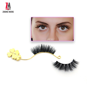ZM Lash Beauty Professional Free Sample Various Thickness 100% Mink Eyelashes With Containers