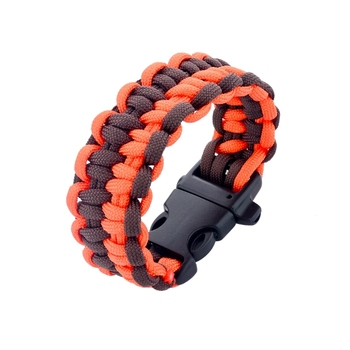 e6e83839d38d De moda trenzado pulsera tejida paracod sobrevivir pulsera patrones para  los hombres