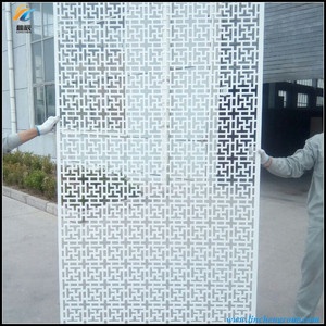 wood plastic composite cheap room dividers