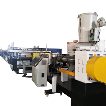 2018 hot sales 2100mm PC hollow sheet extrusion line with good price