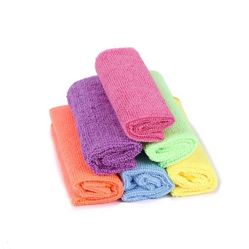 customs best water magnet microfiber towel microfiber drying cloth for home cleaning