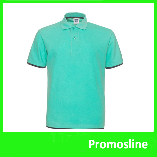 Hot Custom Printed Promotional polo t shirts with printed logos