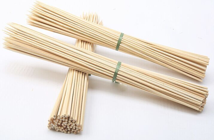 20cm Thin Bamboo Sticks For Bbq Skewer