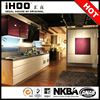 AK354 kitchen cabinet color combinations high glossy lacquer kitchen cabinets