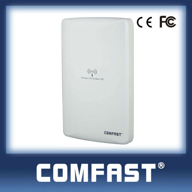 2.4GHz 300Mbps High Power outdoor wifi cpe/ signal amplifier / network bridge / repeater COMFAST CF-E316N
