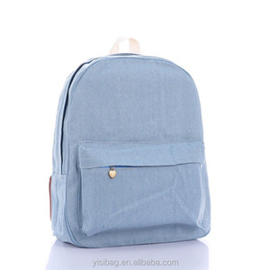 plain jute backpack