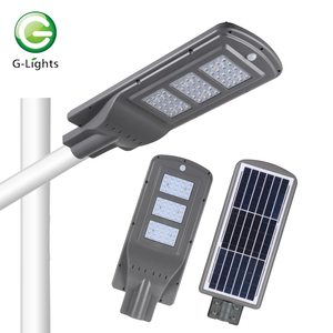 High quality smd 20w 40w 60w 80w 100w ip65 outdoor waterproof all in one led solar street price