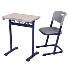 School ergonomic adjustable kids furniture study table and chair