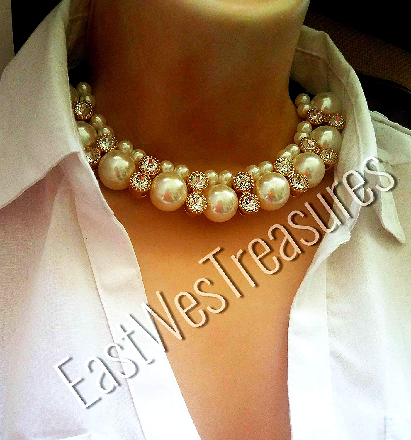 646a6a78dbcaa Cheap White Pearl Statement Necklace, find White Pearl Statement ...